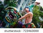 queenstown  singapore  ... | Shutterstock . vector #723463000