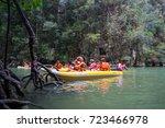 phi phi island  krabi  thailand ... | Shutterstock . vector #723466978