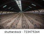 xian  china   may 11  2017  ...   Shutterstock . vector #723475264