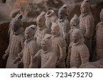 xian  china   may 11  2017  ...   Shutterstock . vector #723475270