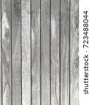 outdoor wood floor in vintage... | Shutterstock . vector #723488044