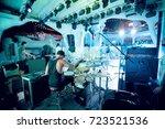 odessa  ukraine august 13  2014 ... | Shutterstock . vector #723521536