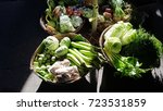 fresh vegetable | Shutterstock . vector #723531859