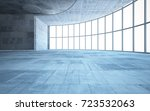 Abstract  Concrete Interior...