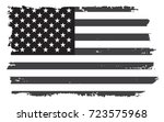 grunge flag of united states... | Shutterstock .eps vector #723575968