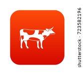switzerland cow icon digital...   Shutterstock .eps vector #723582196