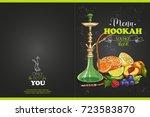 vector color menu design | Shutterstock .eps vector #723583870