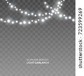 vector seamless horizontal... | Shutterstock .eps vector #723599269