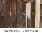 mahogany wooden texture and... | Shutterstock . vector #723624790