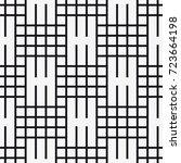 vector seamless pattern....   Shutterstock .eps vector #723664198