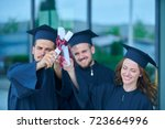 education  graduation and... | Shutterstock . vector #723664996