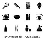 beauty icons | Shutterstock .eps vector #723688063