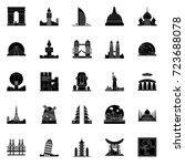 landmarks  | Shutterstock .eps vector #723688078