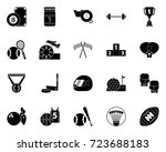 sports icons | Shutterstock .eps vector #723688183