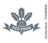 beet logo. simple illustration... | Shutterstock .eps vector #723689806