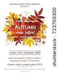 autumn season party festival... | Shutterstock .eps vector #723703300