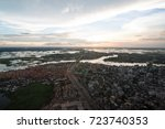 the helicopter shot from dhaka  ...   Shutterstock . vector #723740353