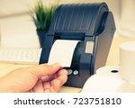 office equipment  a point of... | Shutterstock . vector #723751810