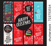 christmas invitation for... | Shutterstock .eps vector #723753514
