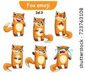 set kit collection sticker...   Shutterstock .eps vector #723763108