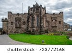 edinburgh  scotland  april 2016 ... | Shutterstock . vector #723772168