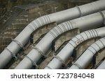 pipeline transportation is most ... | Shutterstock . vector #723784048