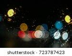 background  bokeh | Shutterstock . vector #723787423