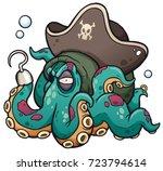 vector illustration of cartoon... | Shutterstock .eps vector #723794614