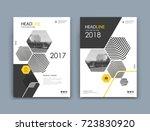 white  black info mockup. a4... | Shutterstock .eps vector #723830920