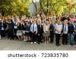 odessa  ukraine september 1 ... | Shutterstock . vector #723835780
