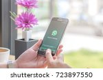 chiang mai  thailand  ...   Shutterstock . vector #723897550