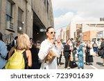 new york  new york   september... | Shutterstock . vector #723901639