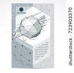 new technology theme booklet... | Shutterstock .eps vector #723903370