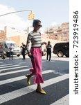 new york  new york   september... | Shutterstock . vector #723919486