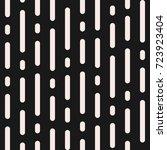 raster monochrome seamless... | Shutterstock . vector #723923404