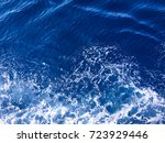 blue water background with... | Shutterstock . vector #723929446