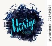 marine odor background for...   Shutterstock .eps vector #723934834