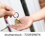 key  house  house key  door ... | Shutterstock . vector #723939874