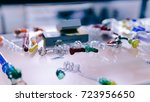 glass bongs for smoking weed...   Shutterstock . vector #723956650