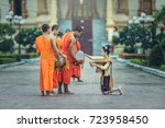 vientiane  laos   july 29  ... | Shutterstock . vector #723958450