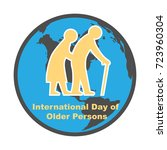 international day of old...   Shutterstock .eps vector #723960304