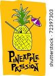retro polynesian tropical...   Shutterstock .eps vector #72397303