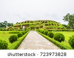 mahasthangarh is one of the... | Shutterstock . vector #723973828