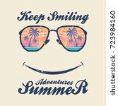 summer adventures   vector...   Shutterstock .eps vector #723984160