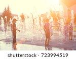 naberezhnye chelny   20 august... | Shutterstock . vector #723994519