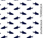 nautical background  seamless... | Shutterstock . vector #724001614