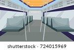 inside bus vector   inside... | Shutterstock .eps vector #724015969