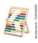 primary school abacus for kids... | Shutterstock . vector #724018309