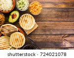venezuelan typical food  arepas ... | Shutterstock . vector #724021078