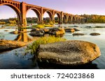 James River Bridge In Richmond...